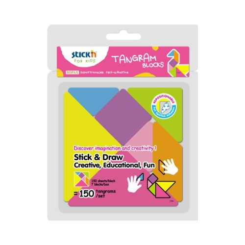 tangram stick'n blocky